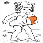 Diversos - Chica en el mar