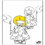 Dibujos Infantiles - Chicas 1