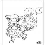 Dibujos Infantiles - Chicas 2