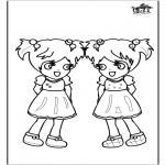Dibujos Infantiles - Chicas 3