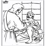 Dibujos de la Biblia - Ciego