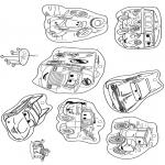 Manualidades - Colgante Cars 1