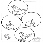 Manualidades - Colgante de animales