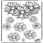 Manualidades - Colgante de Flores