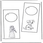 Manualidades - Colgante para puerta 1