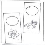 Manualidades - Colgante para puerta 2