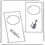 Manualidades - Colgante para puerta 3