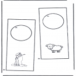Manualidades - Colgante para puerta 4