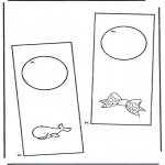 Manualidades - Colgante para puerta 5