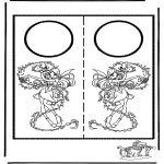 Manualidades - Colgante para puerta 6
