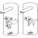Manualidades - Colgante para puerta - Bratz