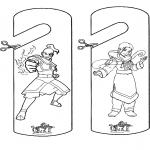 Manualidades - Colgante para puerta de Avatar