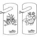 Manualidades - Colgante para puerta de Pokemon
