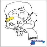Temas - Colorea - bebé 2