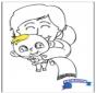 Colorea - bebé 2
