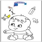 Temas - Colorea - bebé 3