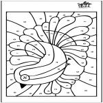 Manualidades - Colorea las casillas 4