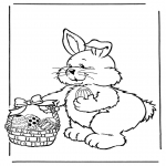 Temas - Conejo de Pascua con huevos 2