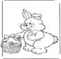 Conejo de Pascua con huevos 2
