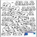 Manualidades - Contando bebés