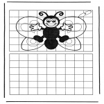 Manualidades - Copia la mariposa