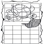 Manualidades - Copia la tortuga