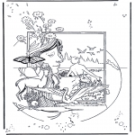 Dibujos de la Biblia - Creación 1