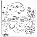 Láminas de la Biblia - Creación 2