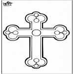 Láminas de la Biblia - Cruz
