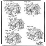 Manualidades - Cuál es distinto, el Osito Paddington