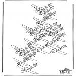 Manualidades - Cuántos aviones