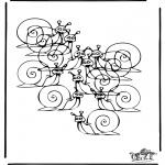 Manualidades - Cuántos caracoles