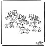 Manualidades - Cuántos tractores