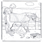 Cuidando del caballo 1