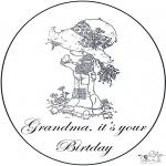 Manualidades - Cumpleaños de la abuela