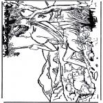 Dibujos de la Biblia - David 1