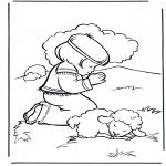Dibujos de la Biblia - David 2
