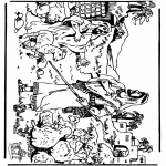 Dibujos de la Biblia - David 3