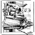 Dibujos de la Biblia - David 4