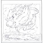 Animales - Delfín blanco