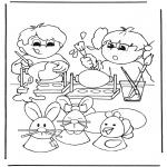 Temas - Dibujar huevos de Pascua