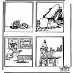Láminas de la Biblia - Dibujo de la Biblia 1