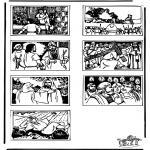 Láminas de la Biblia - Dibujo de la Biblia 2