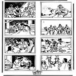Láminas de la Biblia - Dibujo de la Biblia 3
