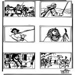 Láminas de la Biblia - Dibujo de la Biblia 4