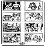 Láminas de la Biblia - Dibujo de la Biblia 5