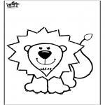 Animales - Dibujo de león