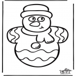 Navidad - Dibujo de Navidad para ventana  1