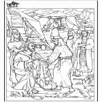 Dibujos de la Biblia - Dibujo - Jacob