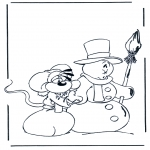 Invierno - Diddl invierno 1